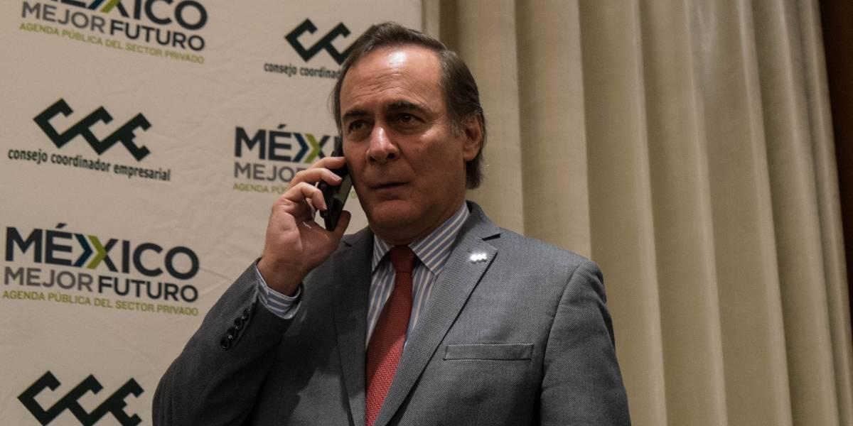 Empresarios niegan presión para que Meade y Zavala declinen por Anaya