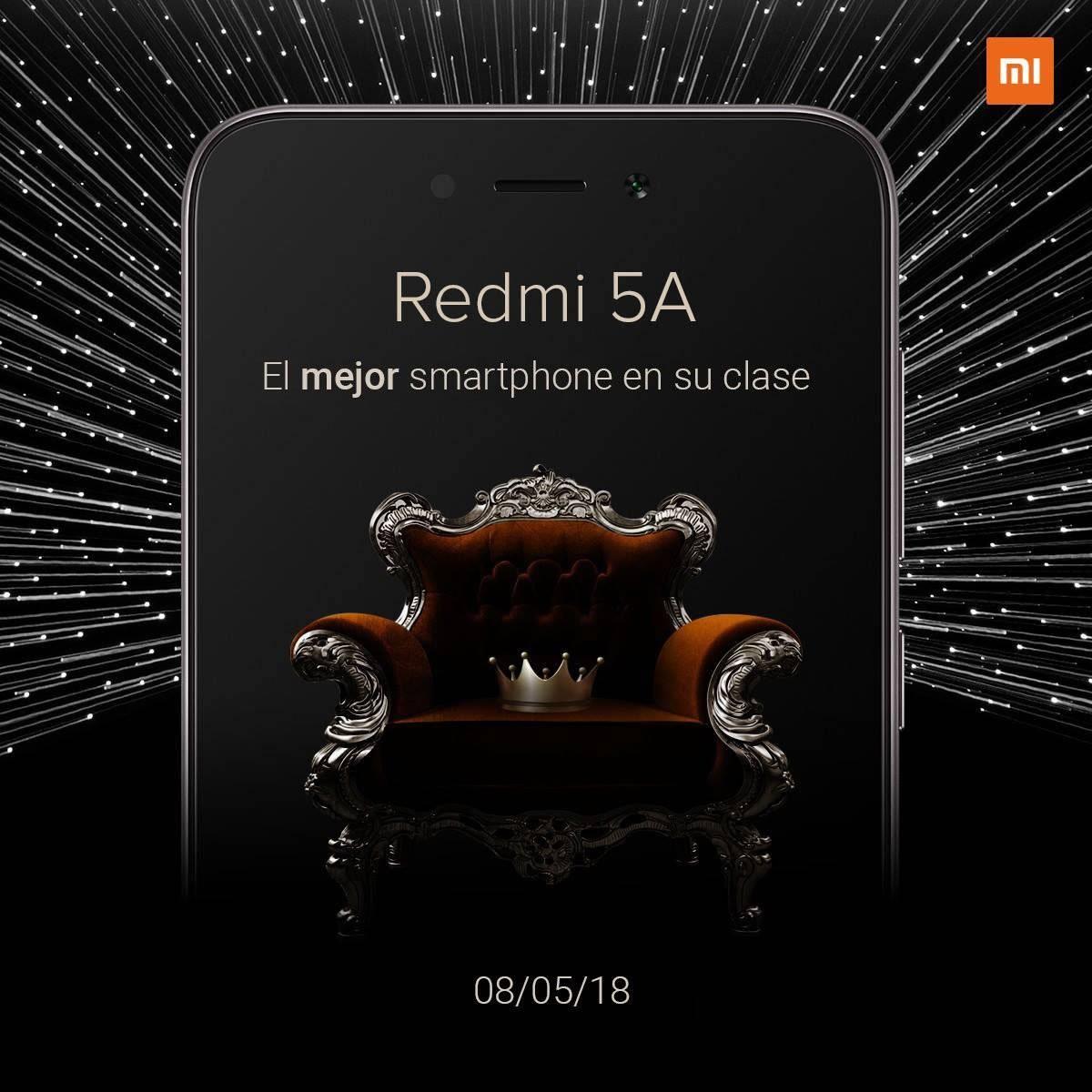 Llega a México(pais) el Redmi™ 5A, un reciente celular de gama introductoria de Xiaomi