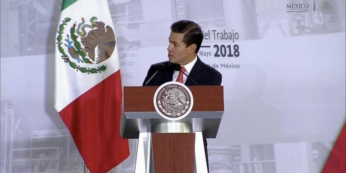 Peña Nieto entrega el crédito 10 millones en la historia del Infonavit