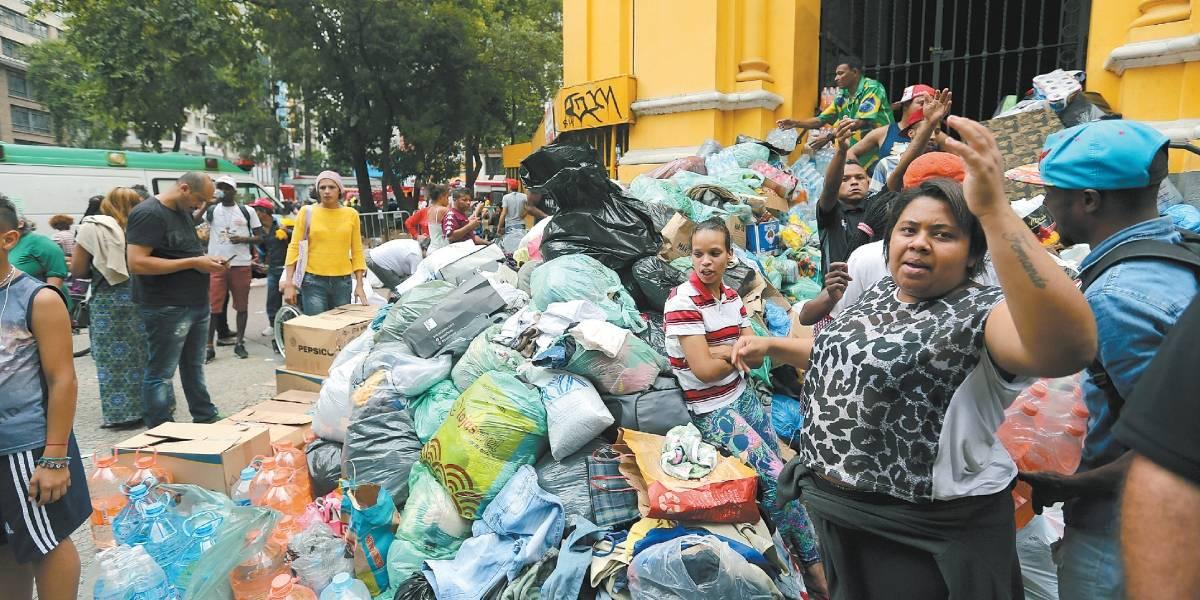 Saiba onde e o que doar para as famílias vítimas de incêndio no Paissandu