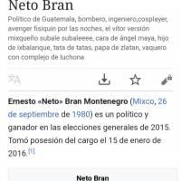 Descripción Neto Bran