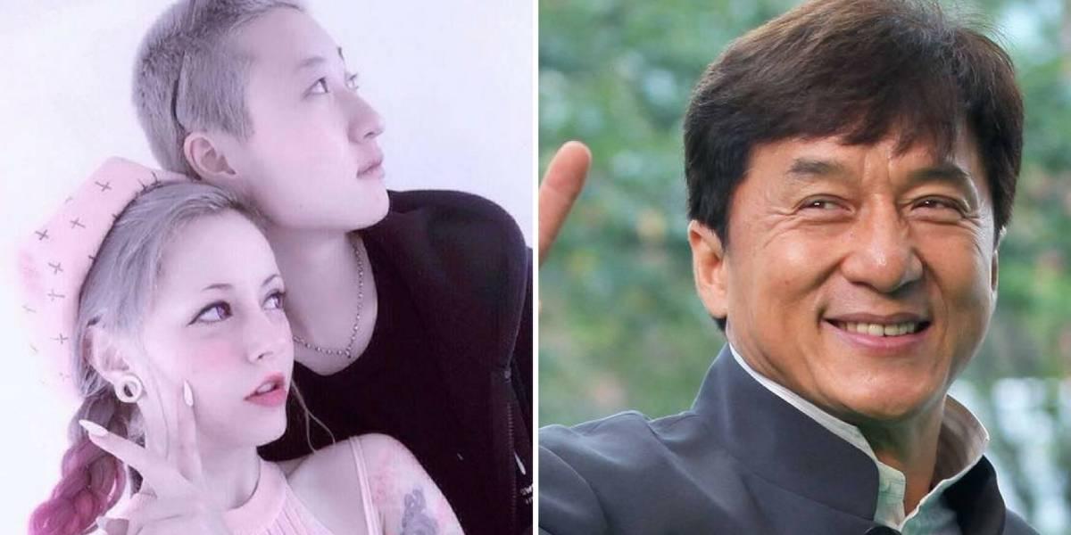 Filha de 19 anos de Jackie Chan revela que mora na rua por culpa dos 'pais homofóbicos'