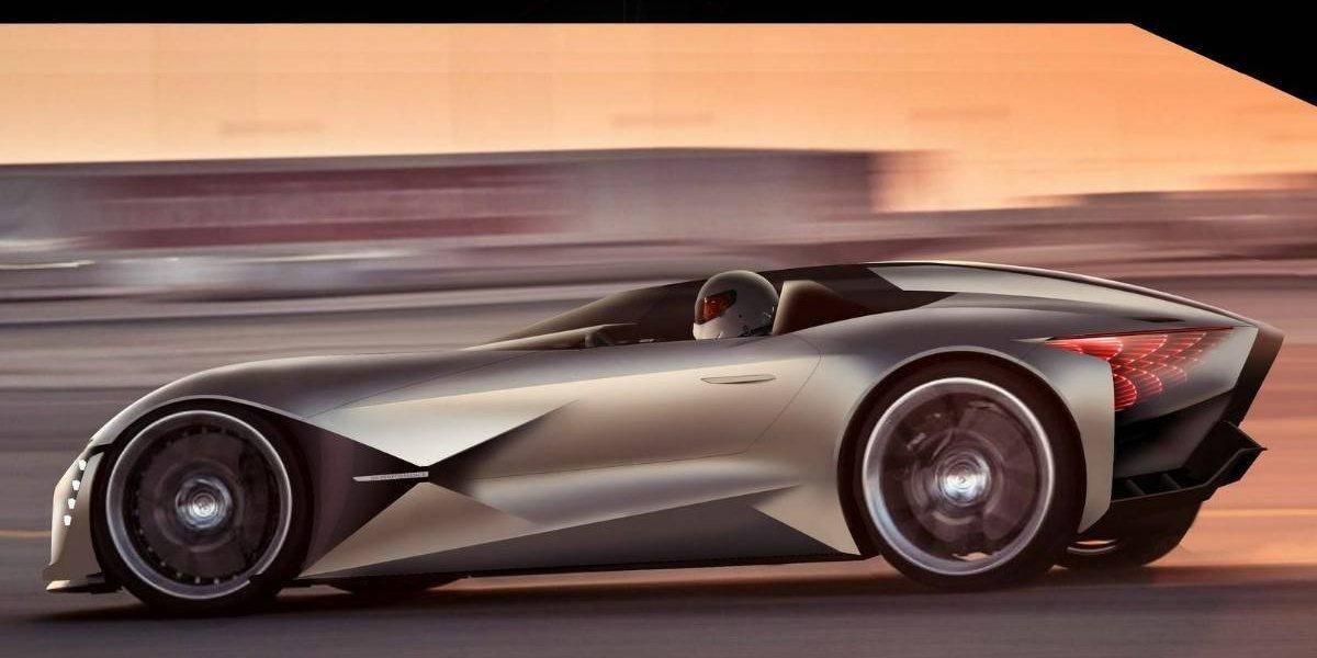 """DS se la juega con el """"automóvil del futuro"""", el X E-Tense"""