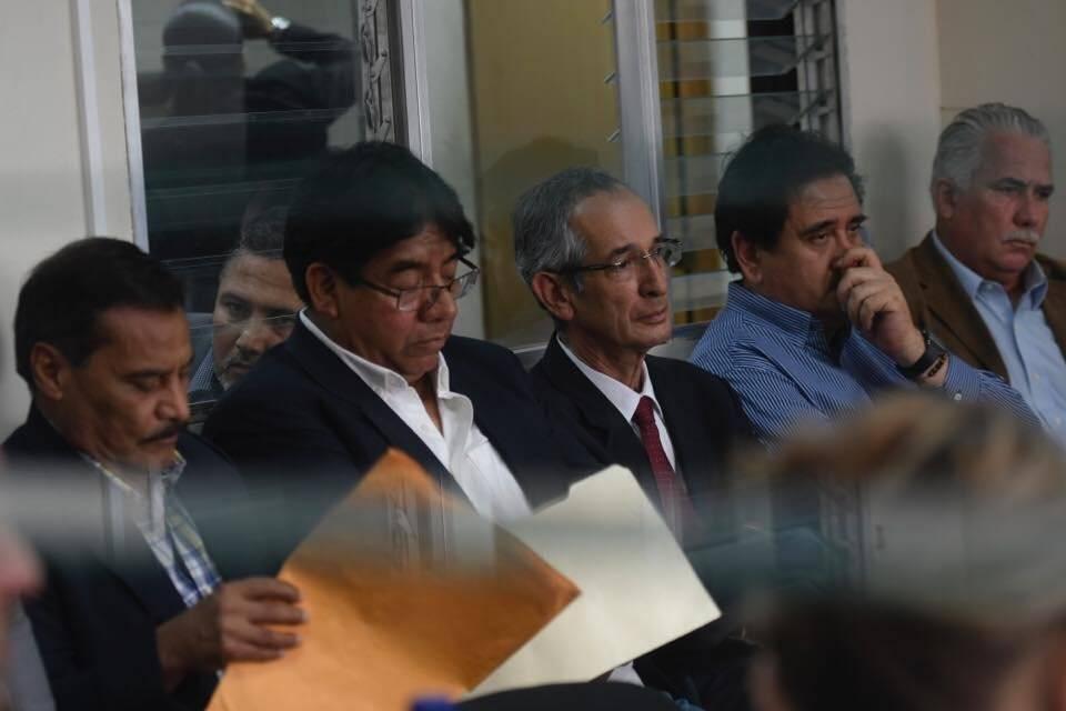 """Audiencia por el caso """"Transurbano"""". Foto: Omar Solís"""
