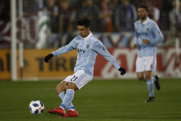 Felipe Gutiérrez es el jugador franquicia del Sporting Kansas City / Foto: AP