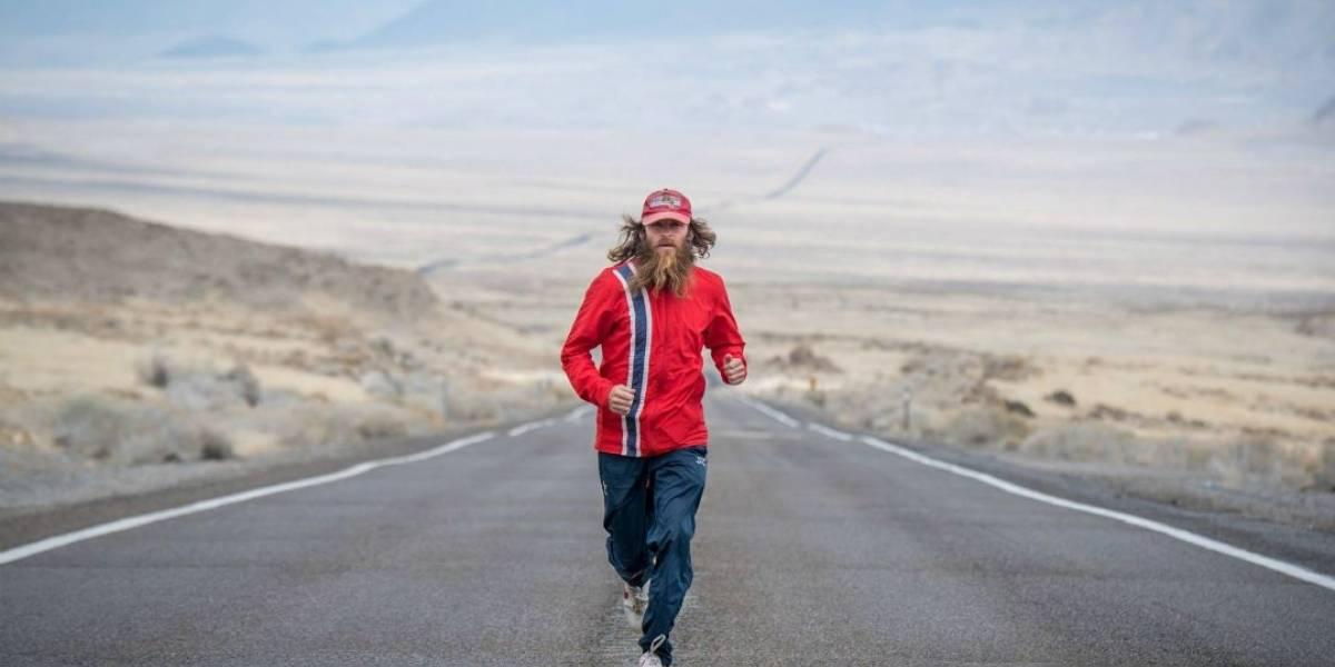 Forrest Gump da vida real cruza os EUA correndo pela 5ª vez