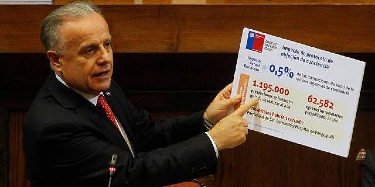 Como en el estadio y con referencias a Natalia Valdebenito: esta fue la primera interpelación a un ministro en la segunda era Piñera