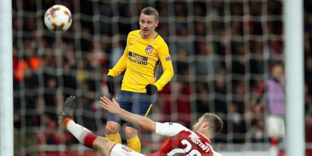 Minuto a minuto: Atlético de Madrid y Arsenal luchan por el paso a la final de la Europa League