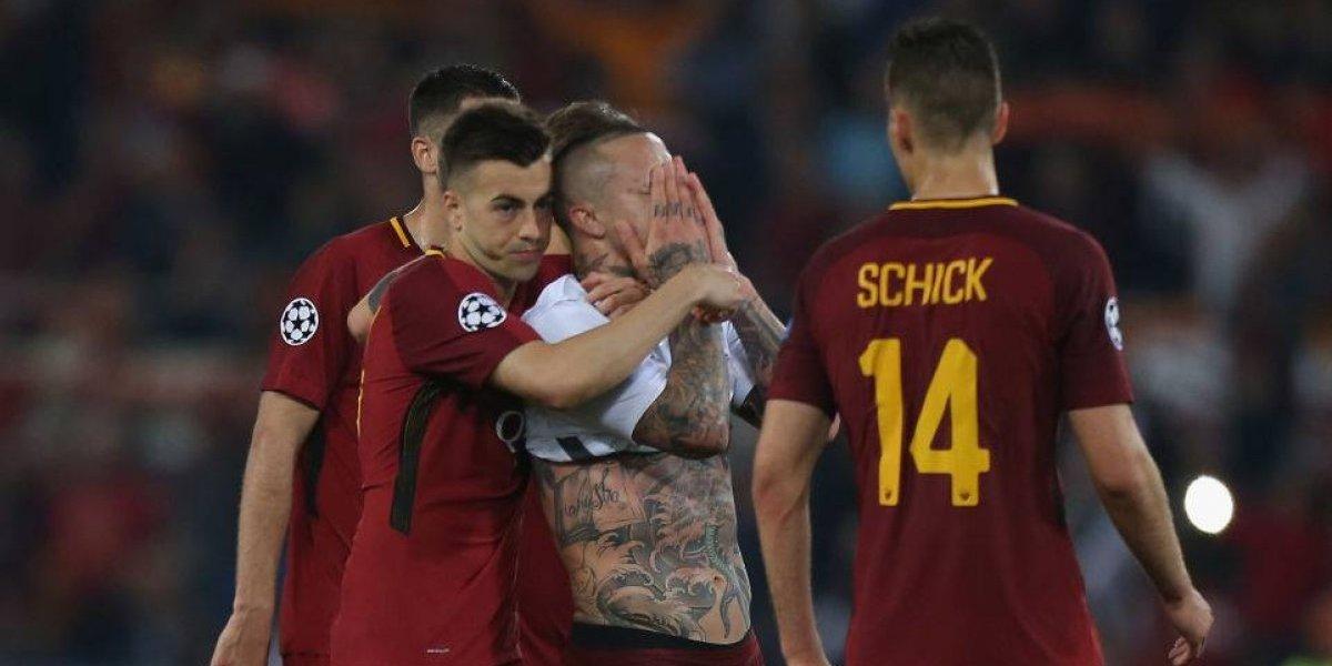 """La furia de la Roma tras el penal no cobrado ante Liverpool: """"¿Por qué no hay VAR en el torneo más importante del mundo?"""""""