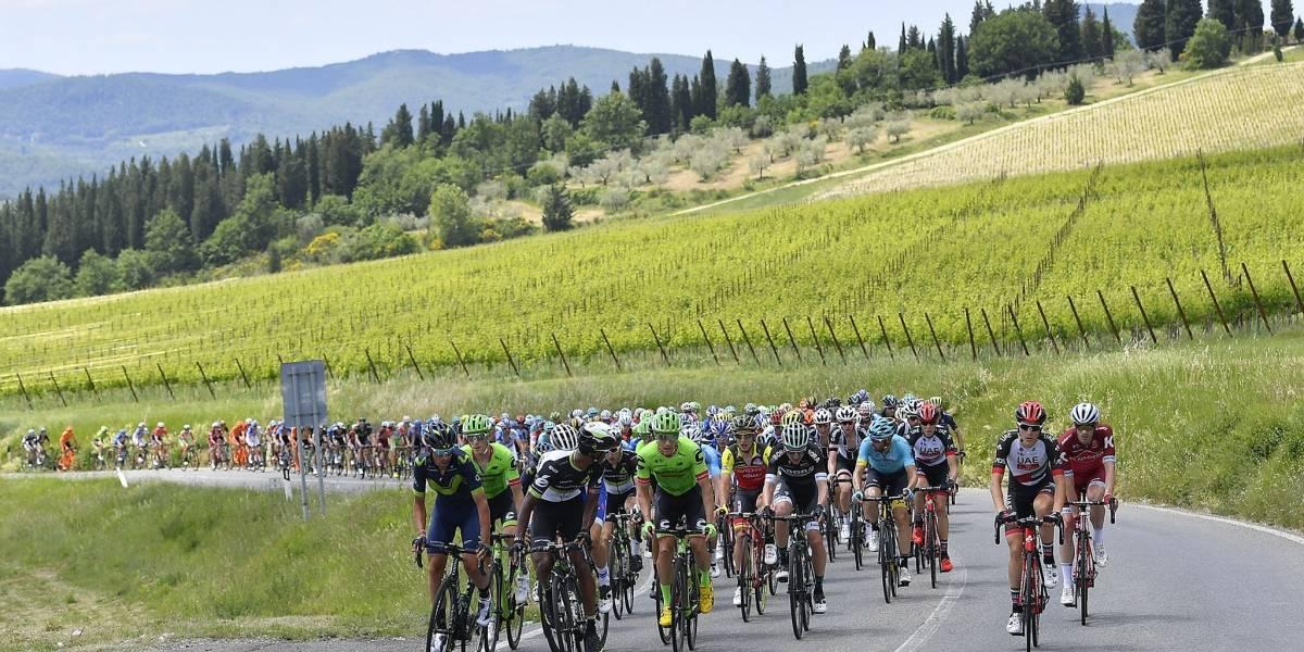 Todo listo para que inicie el Giro de Italia 2018