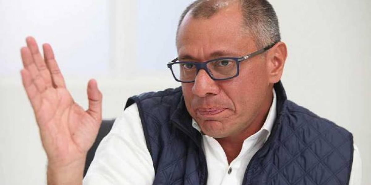 Jorge Glas presenta demanda constitucional contra Lenín Moreno por su destitución