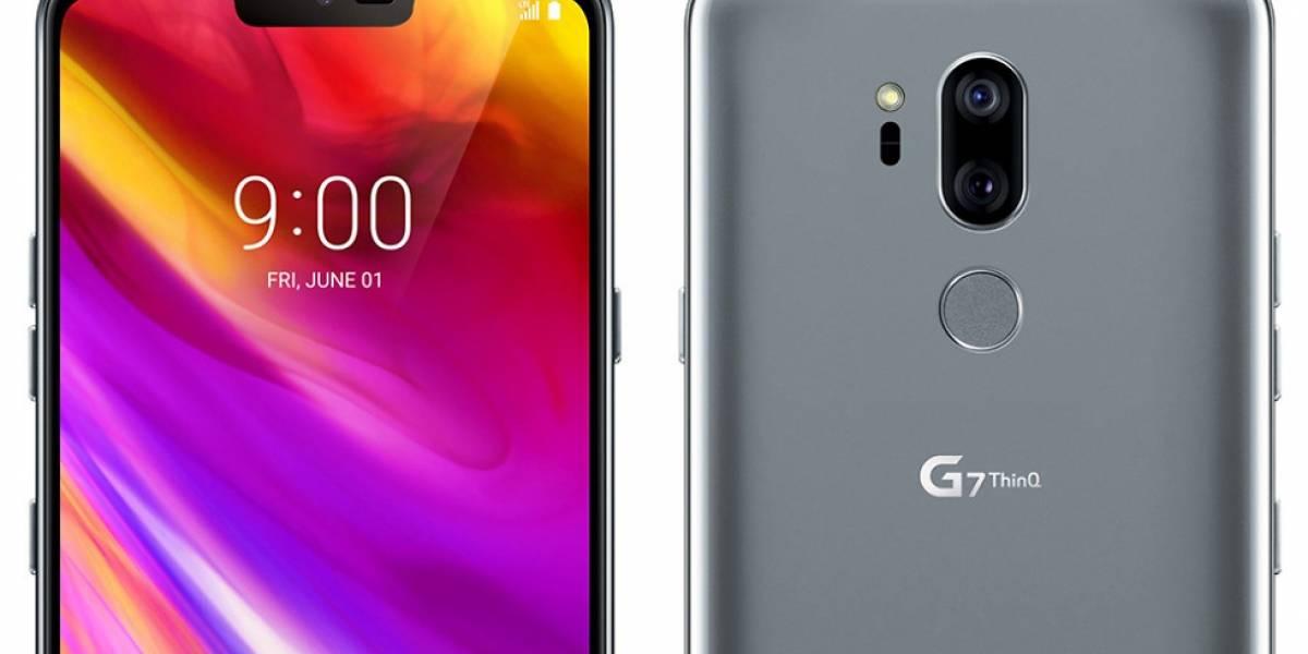 El LG G7 ThinQ fue presentado oficialmente y estas son sus especificaciones