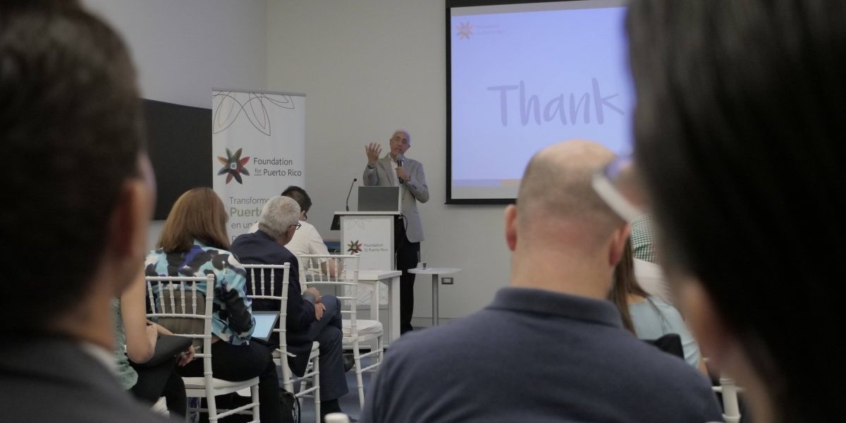 Foundation for Puerto Rico presenta modelo basado en la economía del visitante