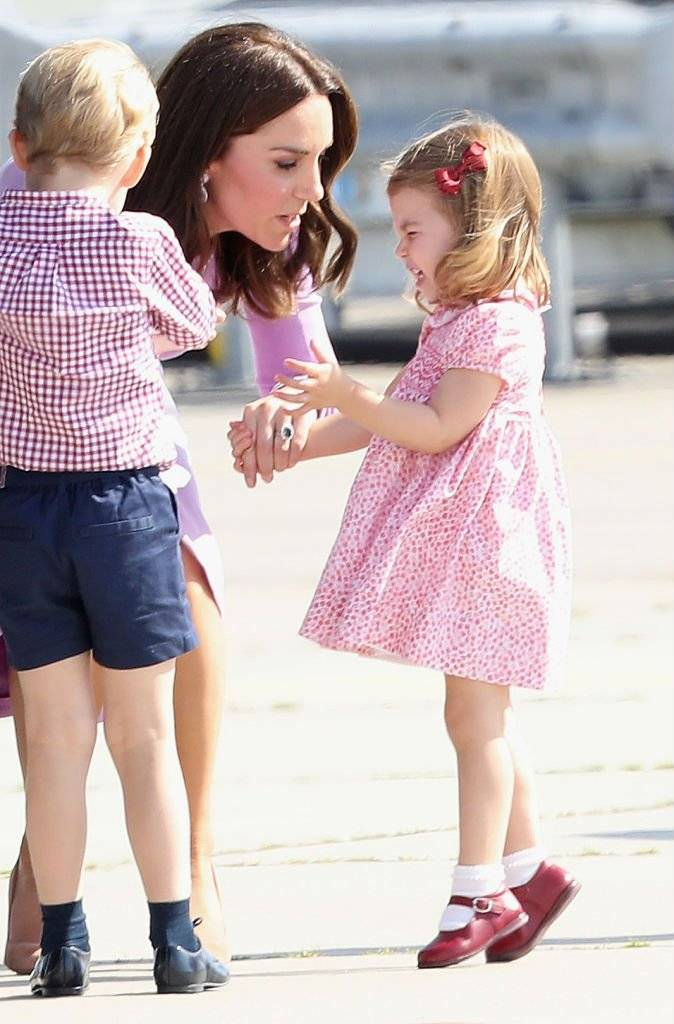 princesa Charlotte Kate Middleton príncipe George