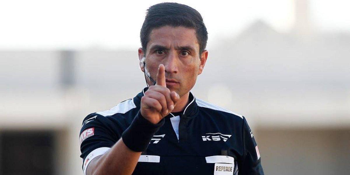 Eduardo Gamboa reconoce satisfacción por su retorno al arbitraje: