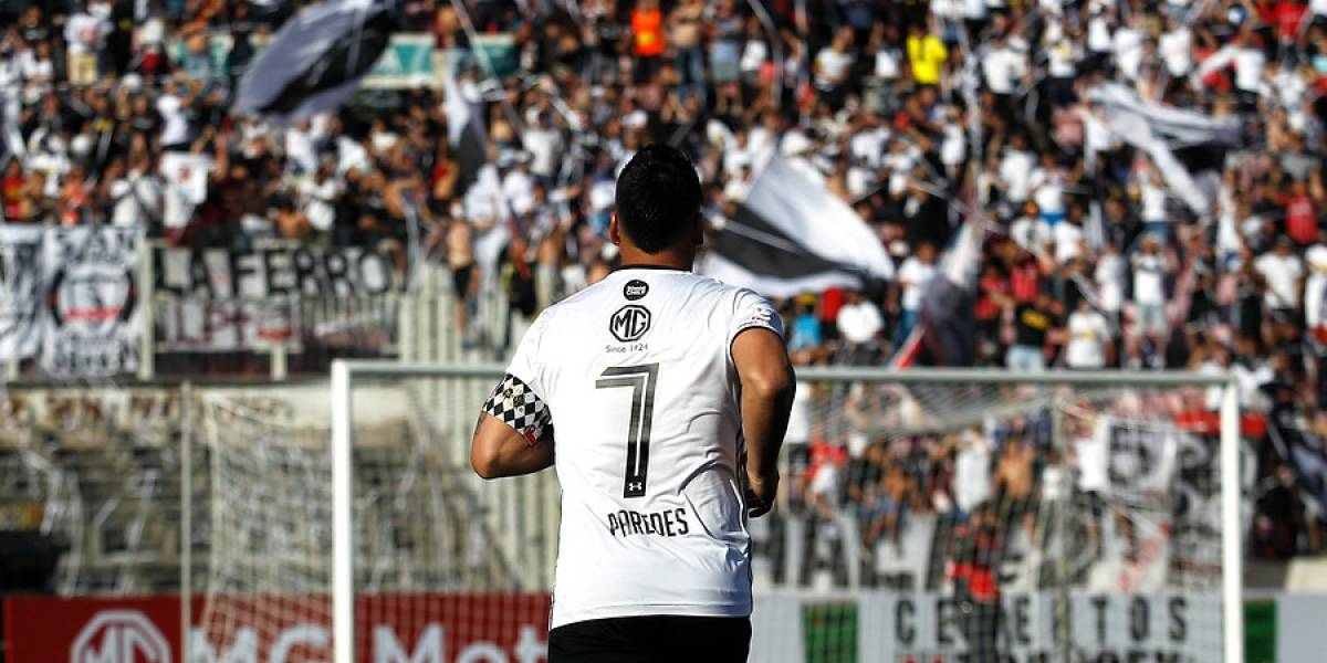 Esteban Paredes es más histórico: empató a Chamaco Valdés como el mayor goleador chileno en la Libertadores