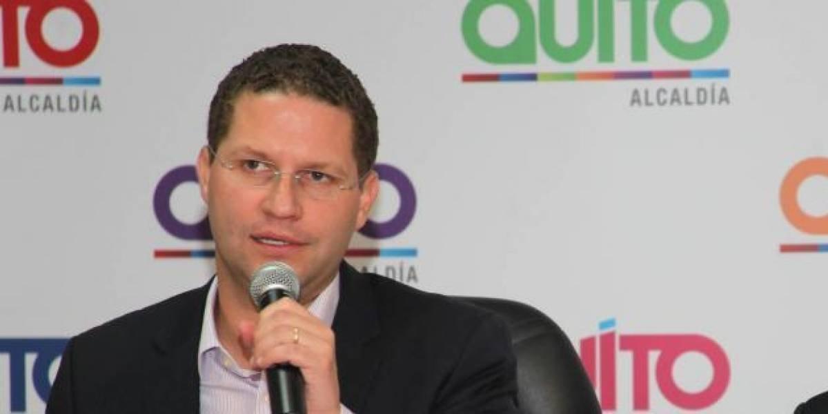 Mauricio Rodas habló sobre las obras que se desarrollan en Quito