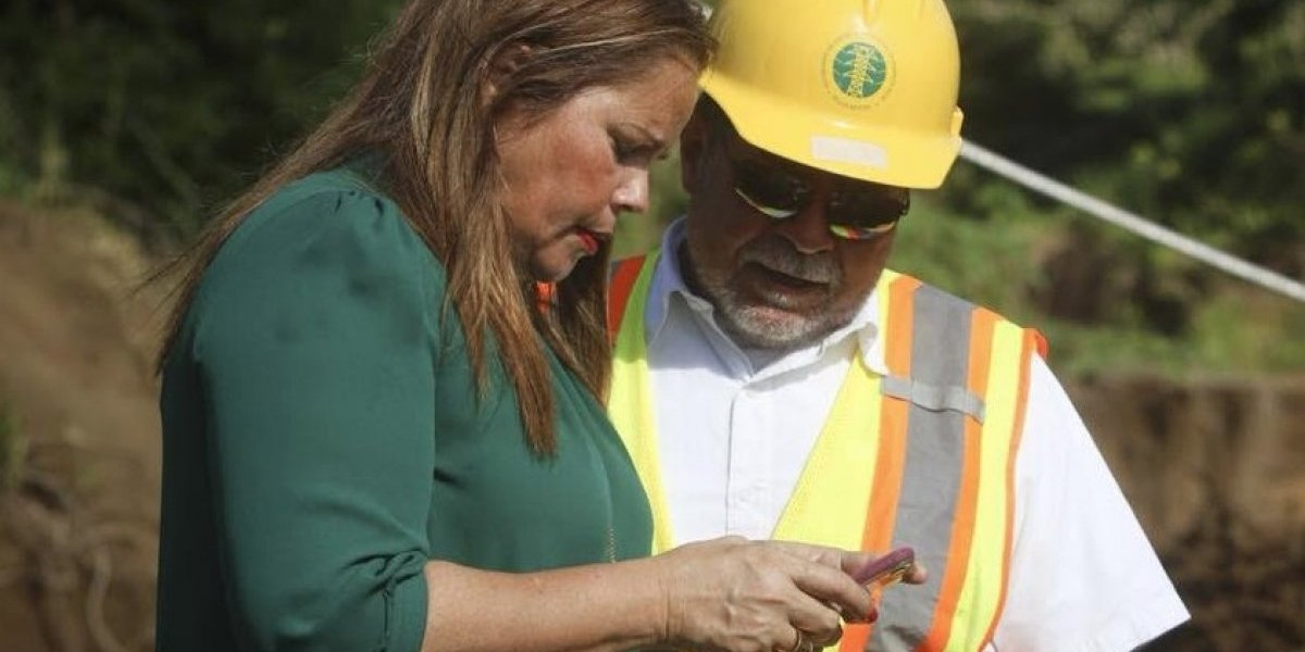 Alcaldesa de Canóvanas celebra energización del 99 por ciento de su pueblo