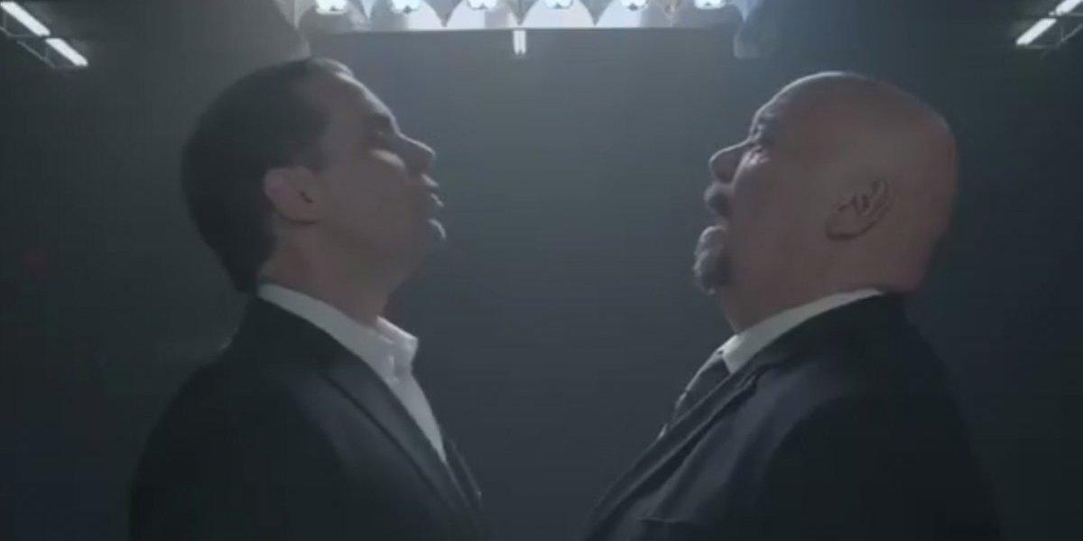Perro Bermúdez y Christian Martinoli por fin se enfrentan cara a cara