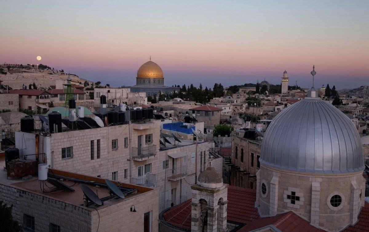 Panorama de la ciudad vieja de Jerusalén. Noam Chen / Turismo de Israel