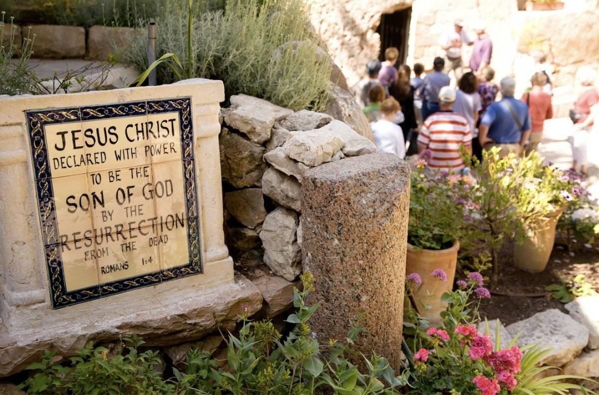 Tumba del jardín, Jerusalén. Noam Chen / Turismo de Israel