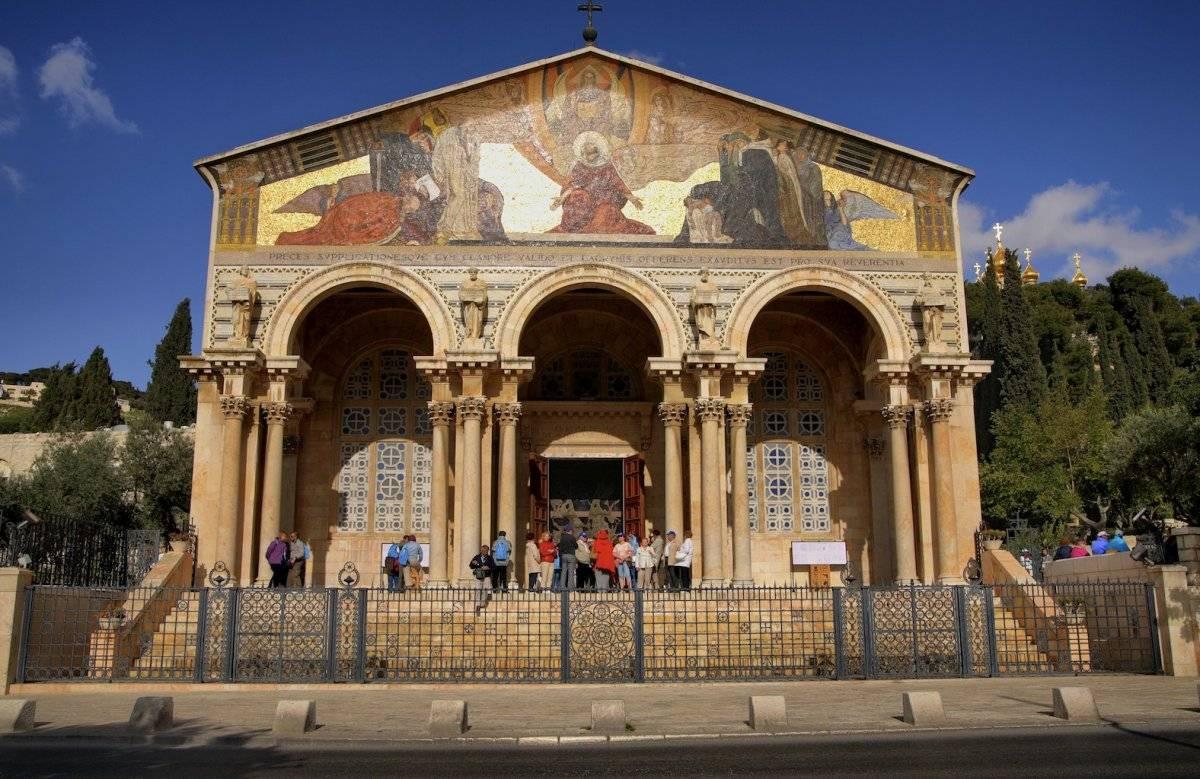 La Iglesia de Todas las Naciones en Getsemaní, Jerusalén. Noam Chen / Turismo de Israel