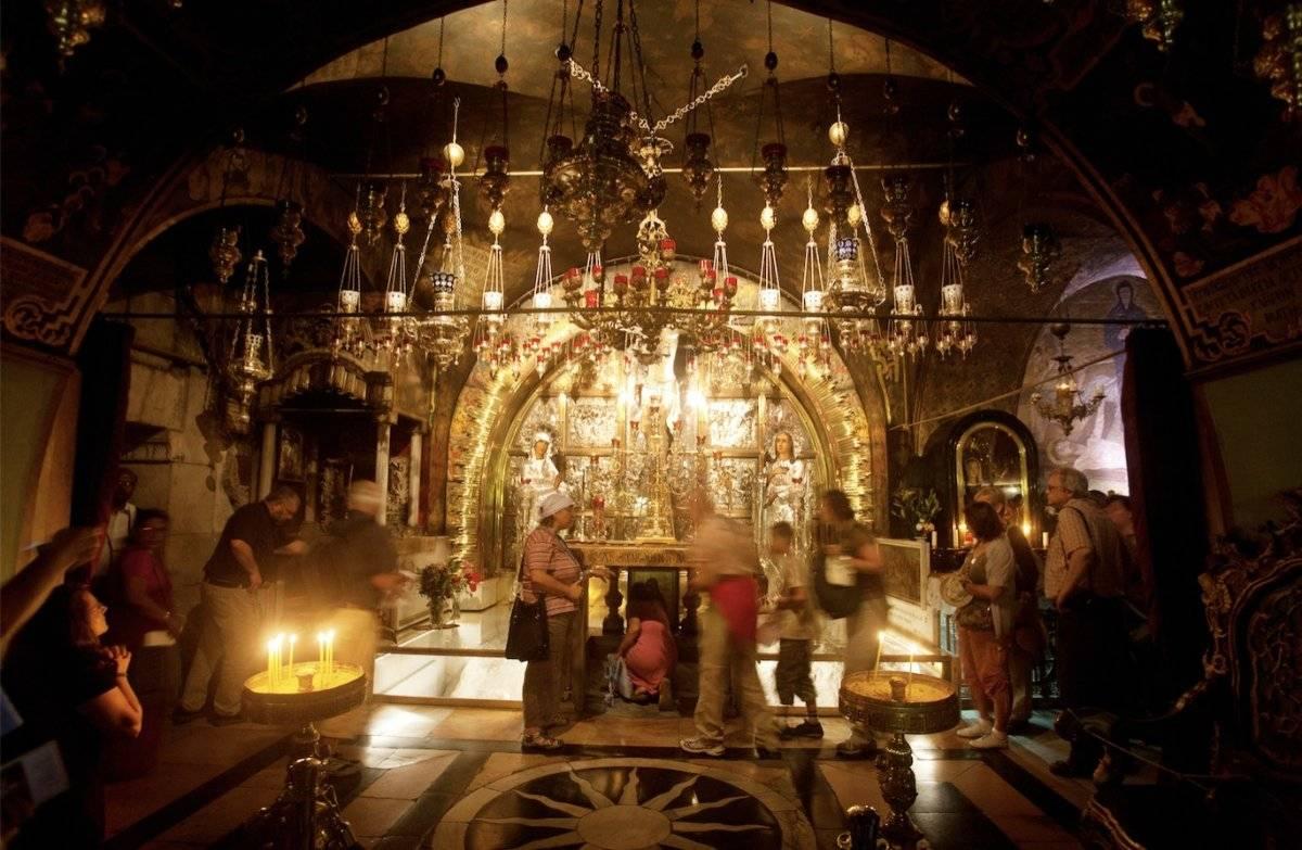 Santo Sepulcro. Noam Chen / Turismo de Israel