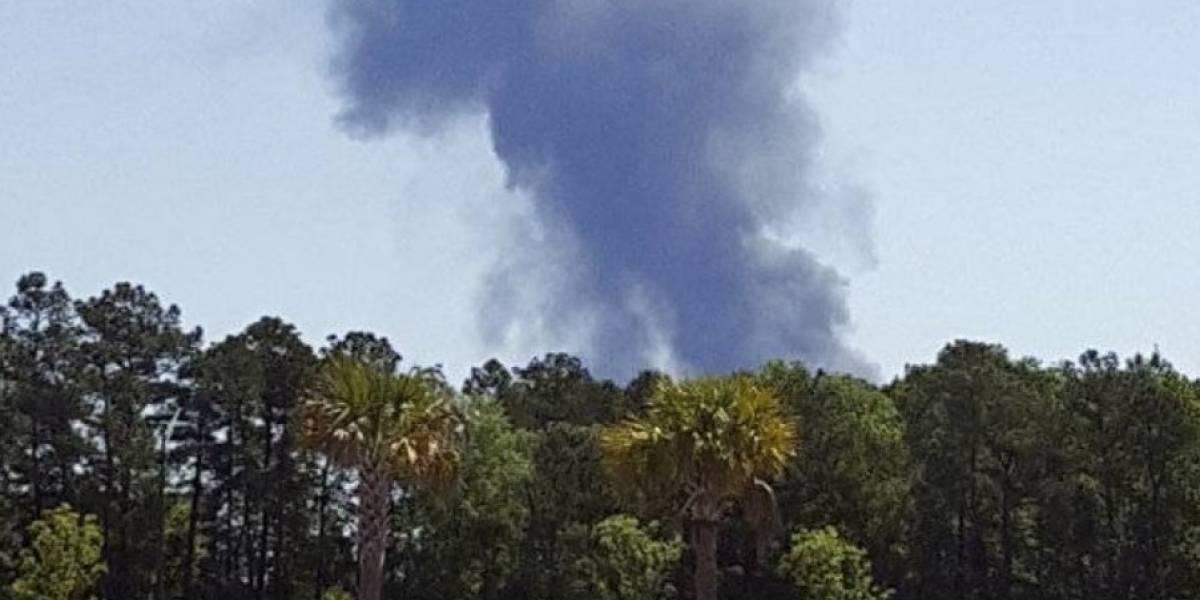 Se estrelló avión de la Fuerza Aérea de Puerto Rico en Georgia