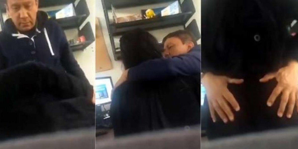 Estudante universitária grava momento de assédio sexual para poder incriminar professor
