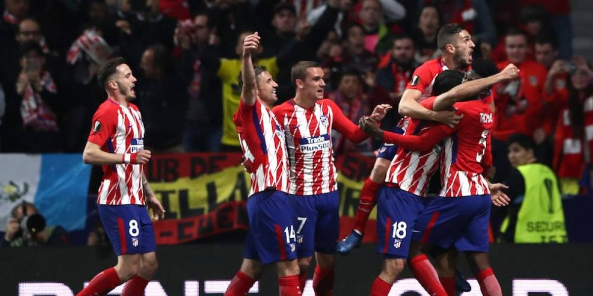 Atleti y Marsella se citan en la final de la Europa League