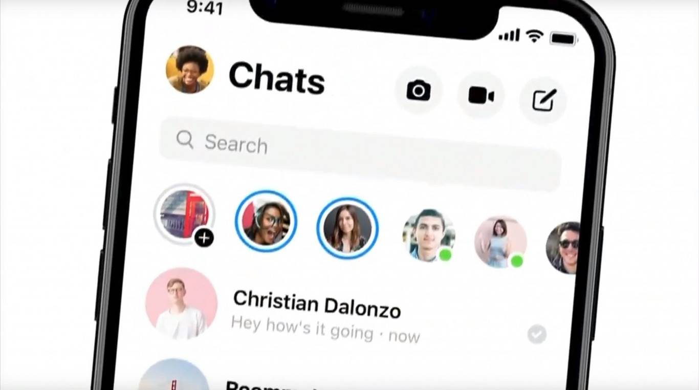 Así se verá Facebook Messenger con su nuevo diseño en iPhone