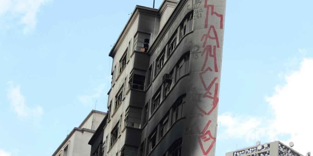 Outro prédio no Centro de SP corre risco de desabar