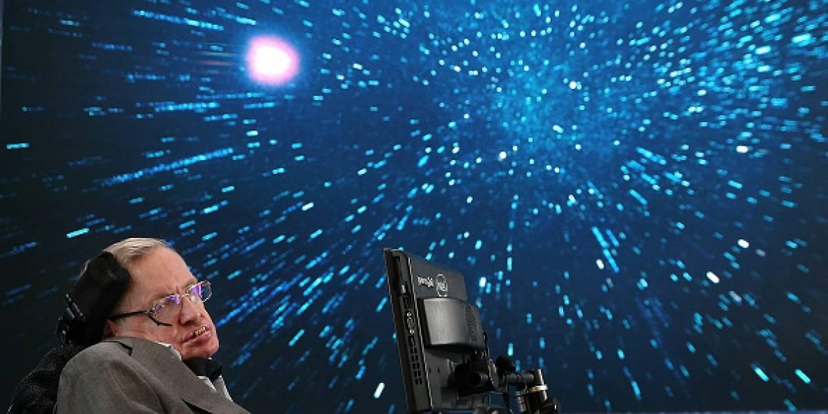 Stephen Hawking dejó para el final su teoría más impactante sobre el origen del Universo y es más simple de lo que se ha pensado hasta ahora