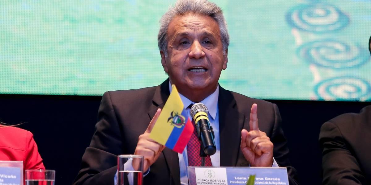 Presidente Lenín Moreno: Presento disculpas por mis desafortunadas declaraciones