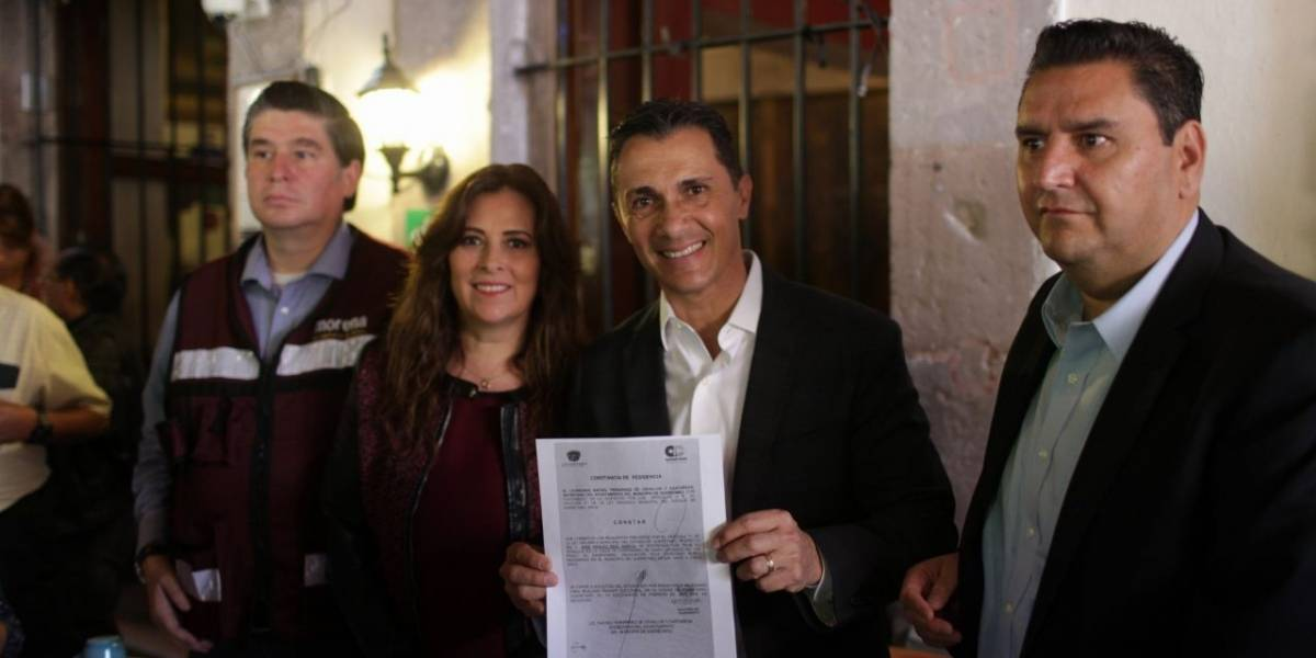 Morena pide a Anaya sacar las manos de elección en Querétaro