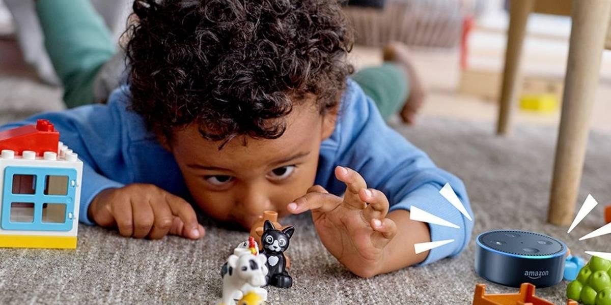 Lego hace equipo con Alexa de Amazon para educar a tus hijos