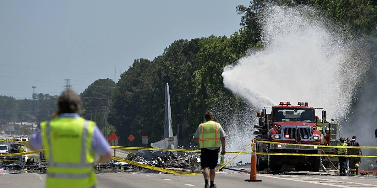 Avión que se estrelló en Georgia realizaba en su último vuelo