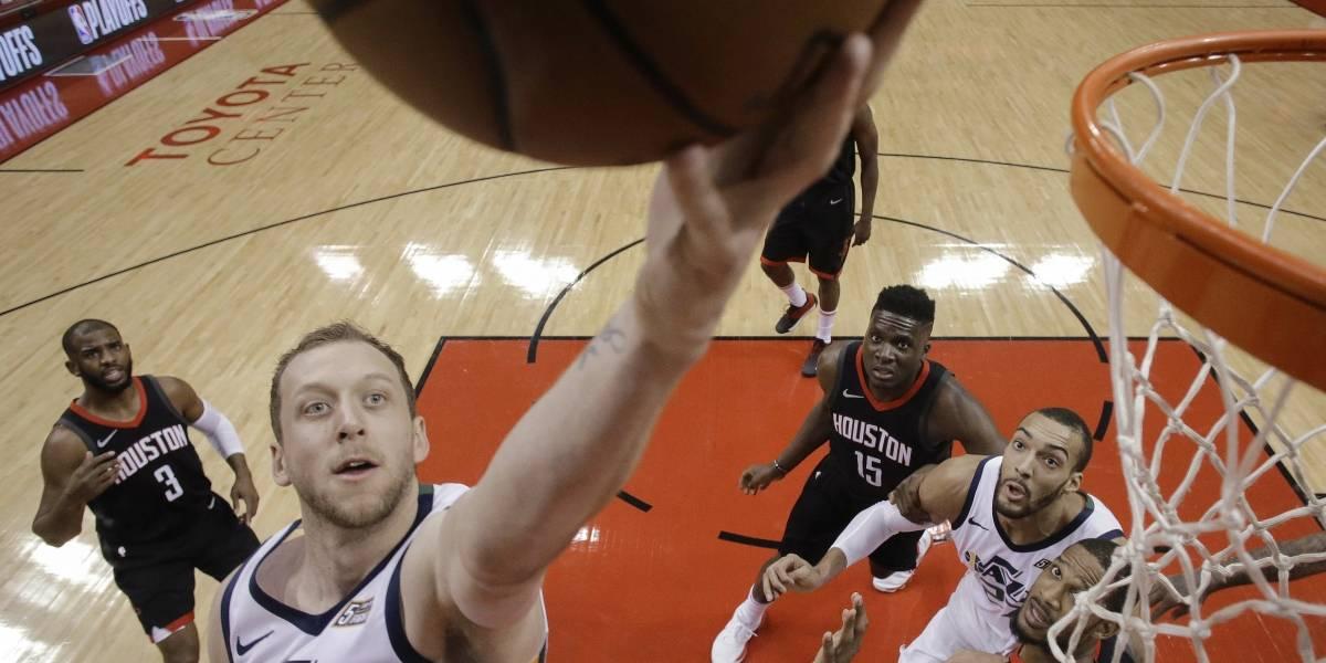 Utah empareja serie ante los Rockets en semifinales del Oeste