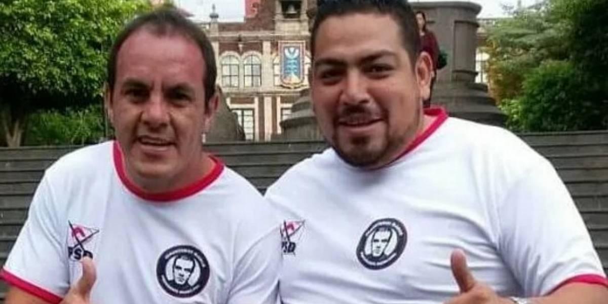 Él es el socio de campaña de Cuauhtémoc Blanco acusado de asesinato