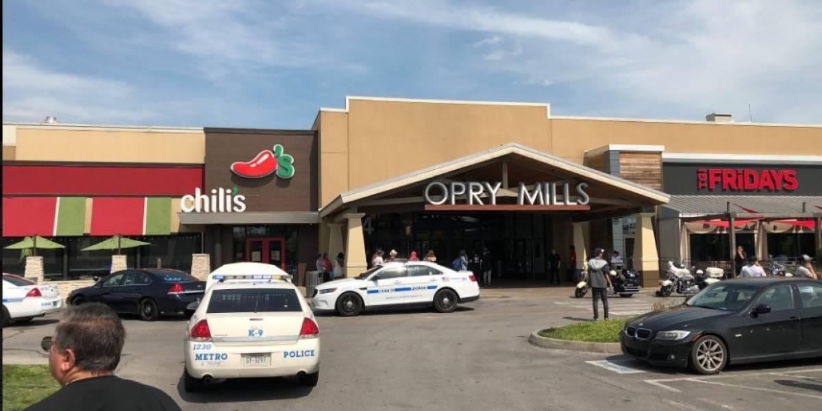 Policía responde a tiroteo en centro comercial de Nashville