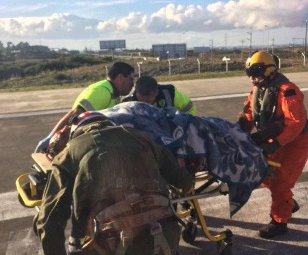 Traslados de heridos de Cochamó