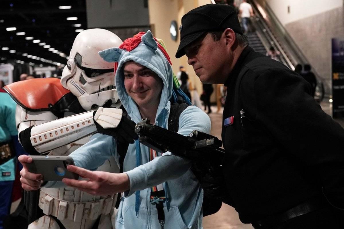 Fans de Star Wars.