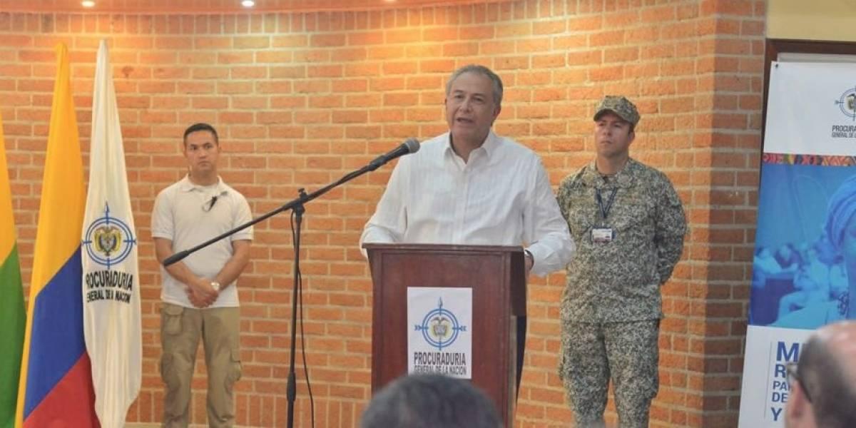 """Óscar Naranjo, vicepresidente colombiano, aseguró que Guacho """"tiene los días contados"""""""