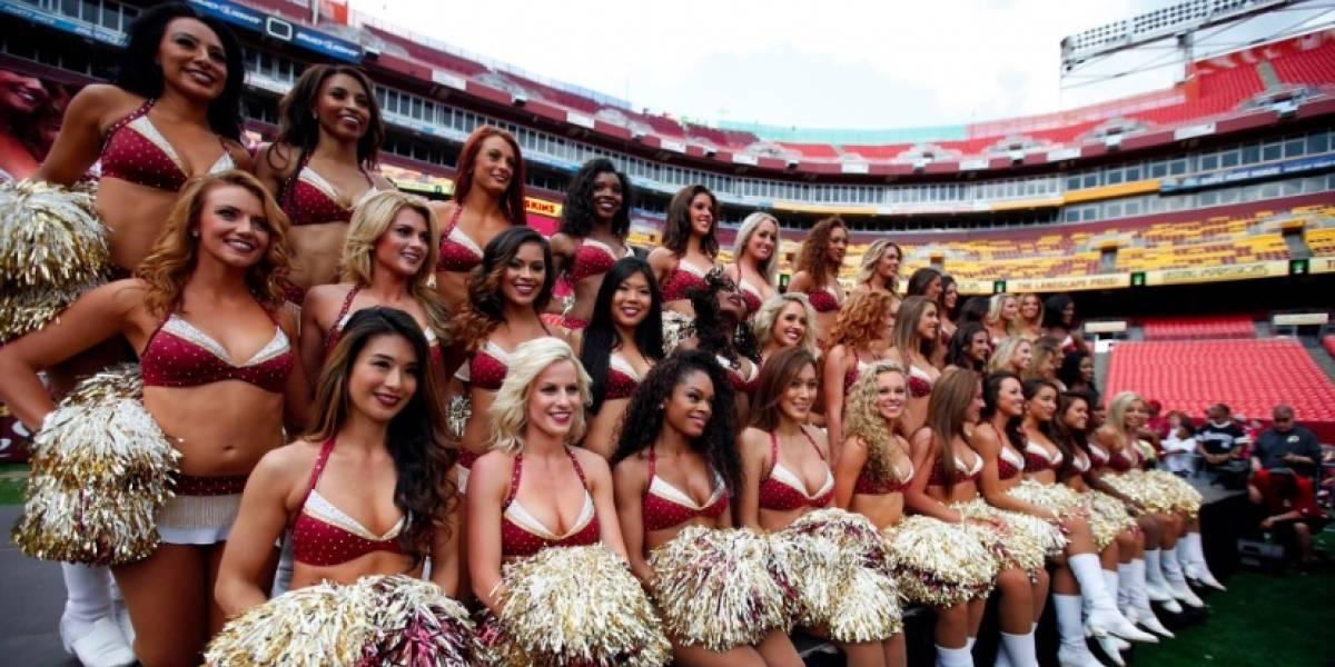 Porristas de los Redskins de la NFL manifiestan abuso sexual