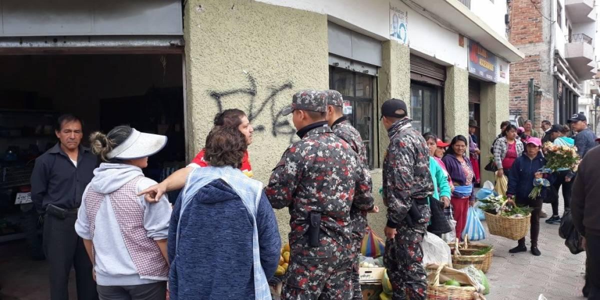 Agresiones a guardias ciudadanos aún continúan en Cuenca