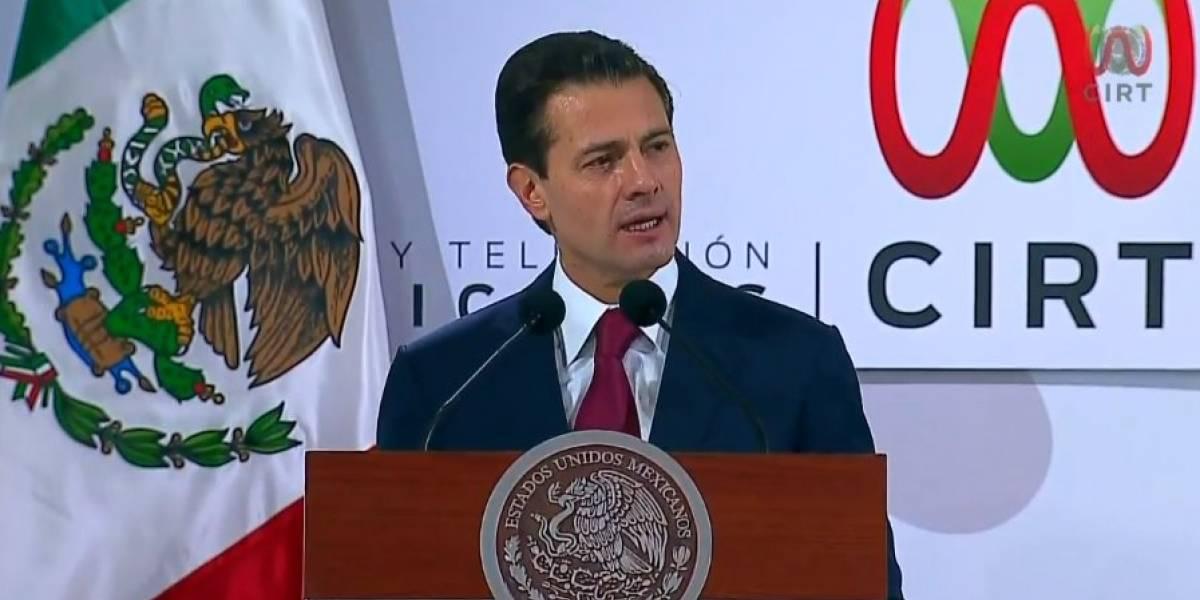 En una democracia no hay lugar para la intolerancia política: Peña Nieto