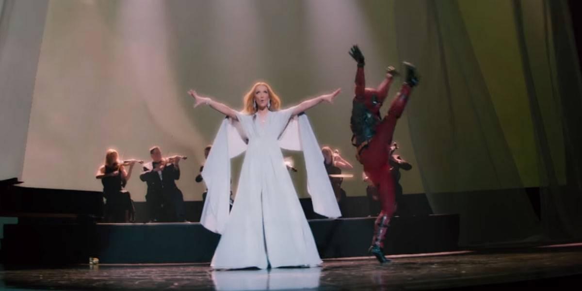 Deadpool dançando em clipe de Celine Dion é a coisa mais engraçada que você vai ver hoje