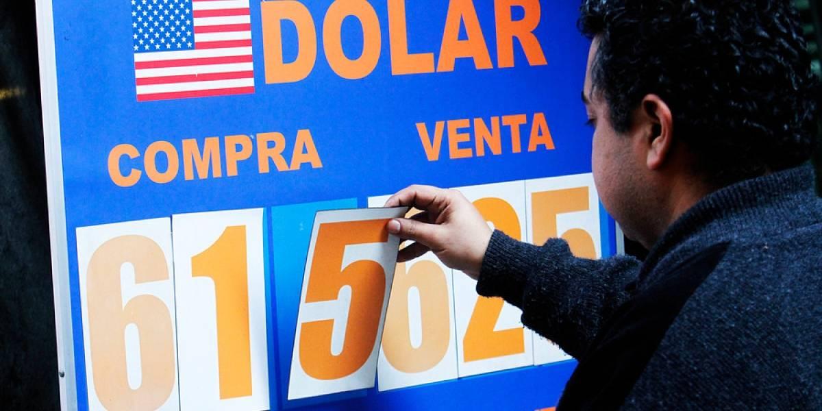 La cuarta al hilo: dólar otra vez cierra al alza y llega a los $620