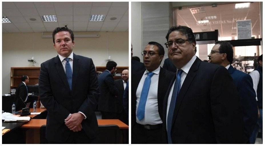 Empresarios Rodrigo Arenas y Andrés Botrán Foto: Omar Solís
