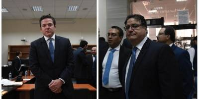 Empresarios Rodrigo Arenas y Andrés Botrán